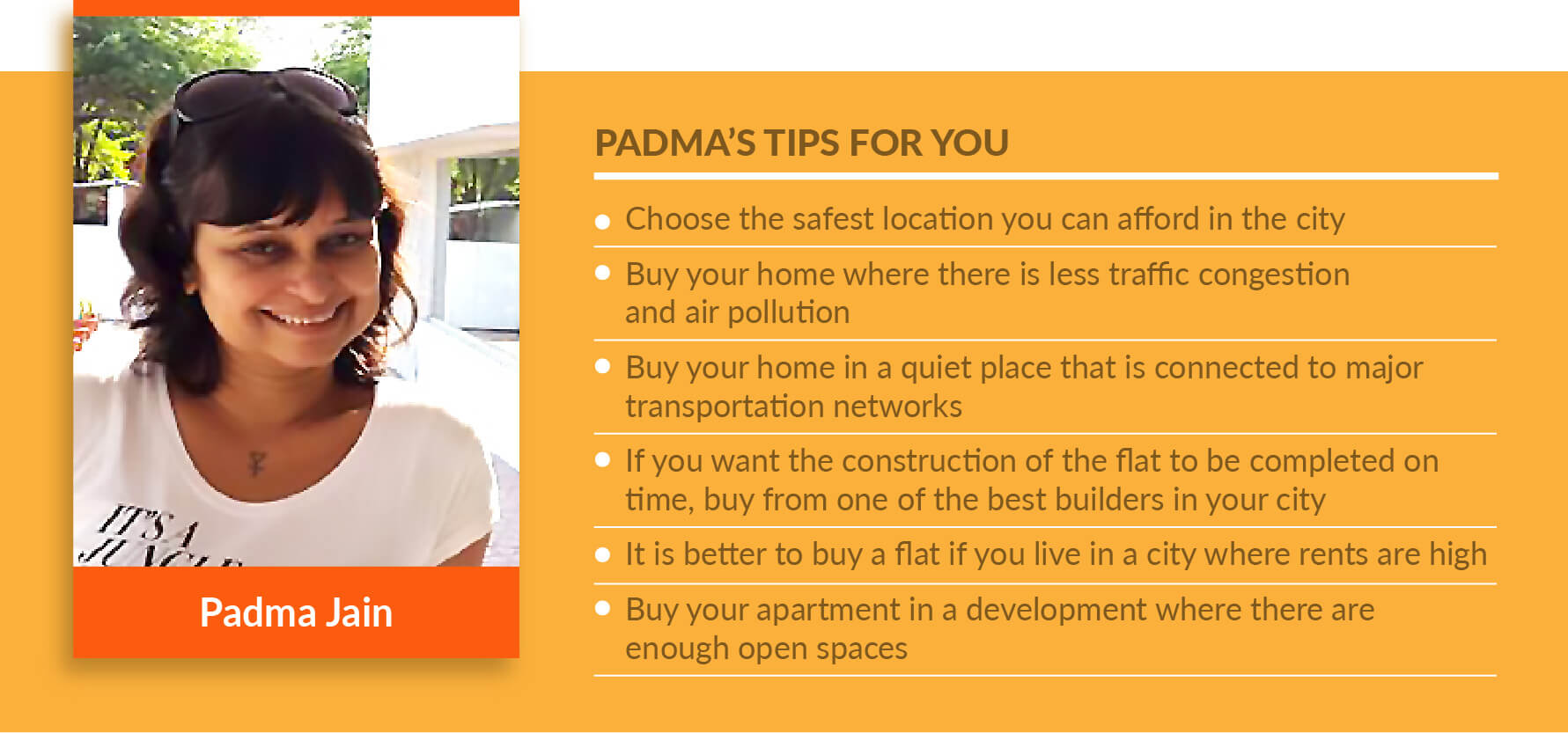 Home Buyers Speak: Padma Jain On Buying A Bungalow In A Residential Project