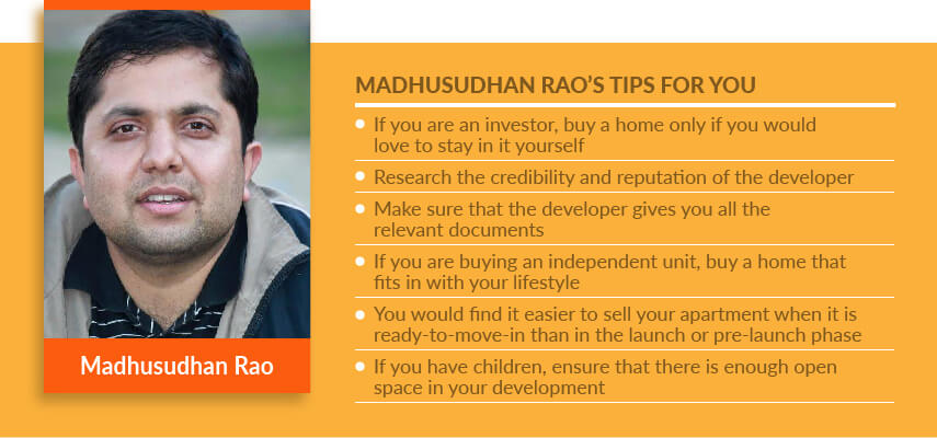Home Buyers Speak: For Bengaluru's Madhusudan Rao, A Home Must Be A 'Perfect Fit'