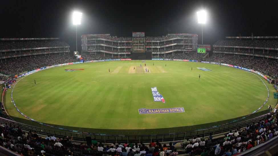 Cloakroom in Feroz Shah Kotla Stadium