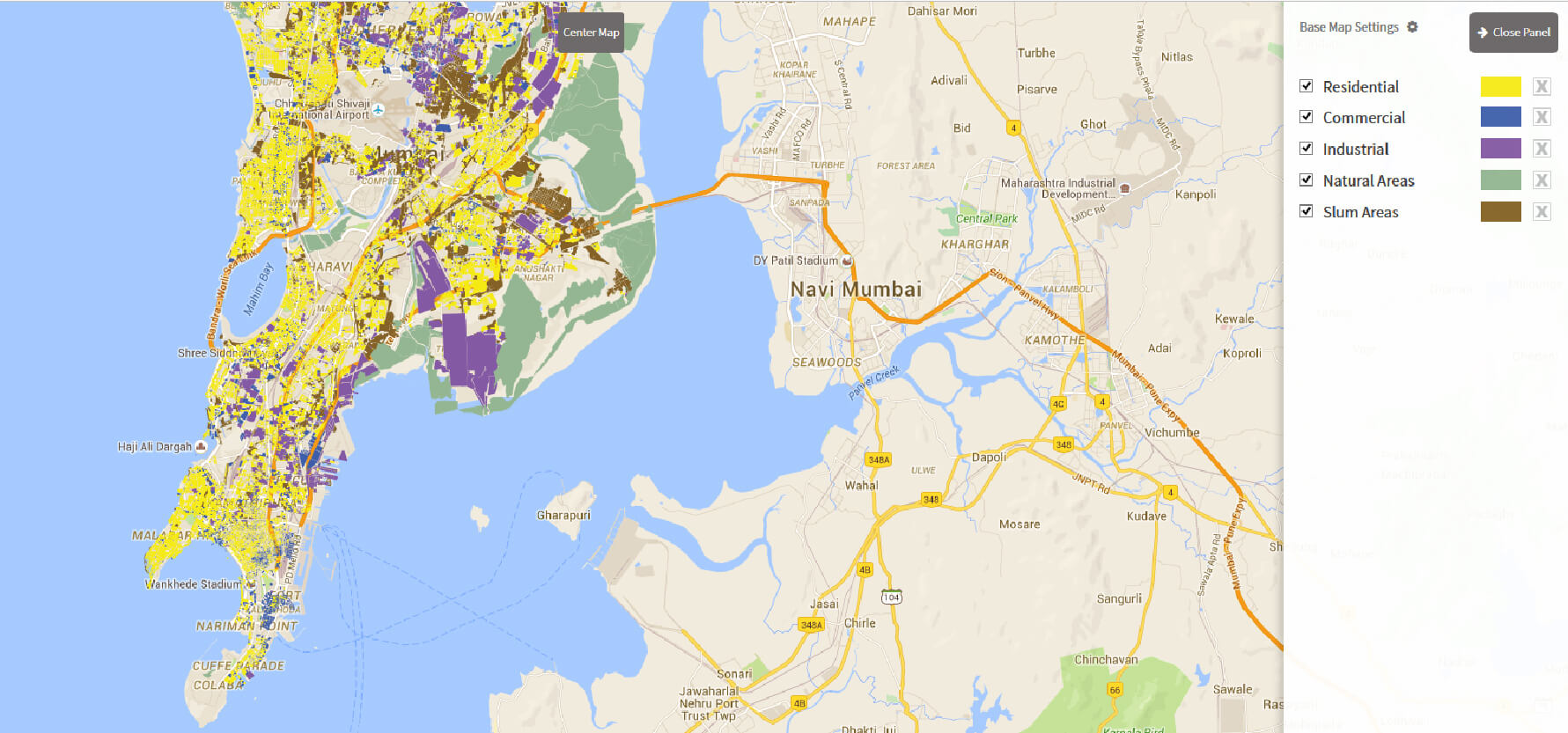 mumbai on map choice image