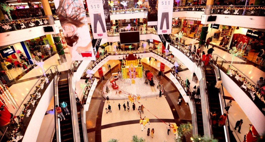 visit to a shopping mall A visit to big bazaar in delhi inderlok there are multi-cuisine food courts, multi- plex cinema and shops of all kinds under one roof mother shopped.