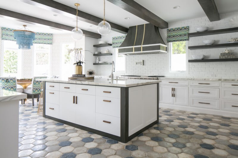 Kitchen Hexagon
