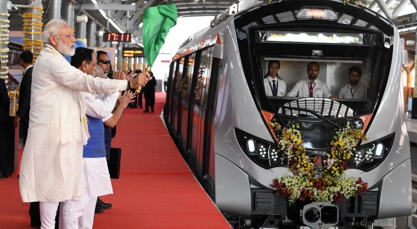 PM Flags Off Phase-I Of Ahmedabad Metro, Lays Foundation Stone Of Phase-II