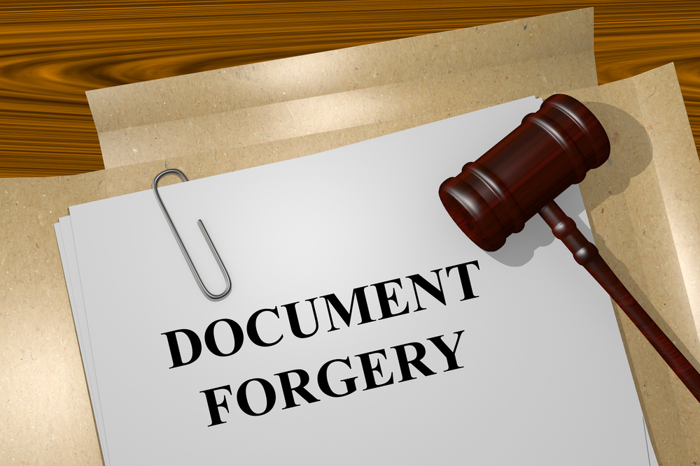 What To Do If Someone Forges Your Property Papers?
